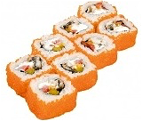 Foto California King Crab roll 8 stuks